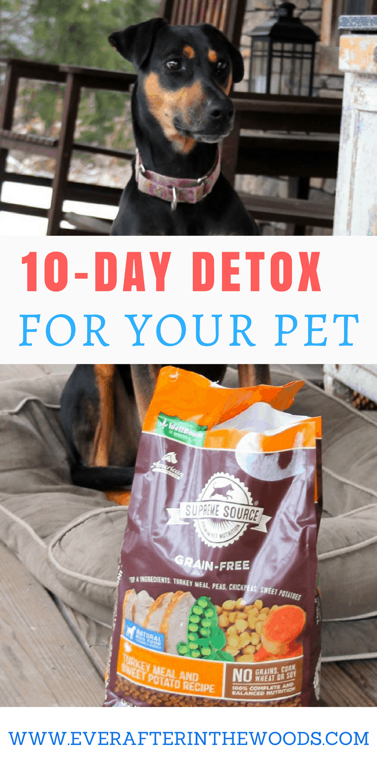 supreme source dog food 10 day detox