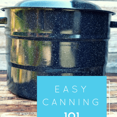 old fashioned canning how to