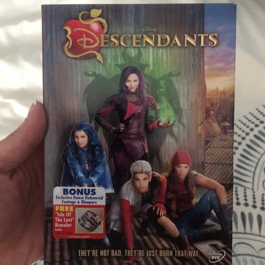 We are all so excited this is available from #DISNEY on DVD! Must have #Descendants