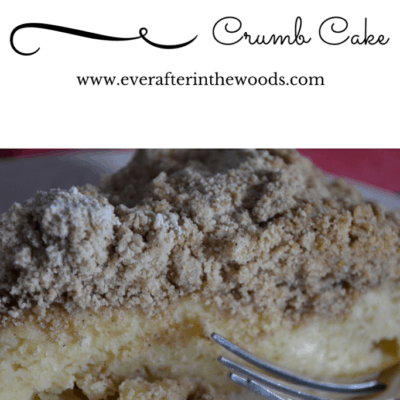 Moist Sour Cream Crumb Cake Dessert Recipe