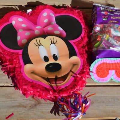 The Perfect Minnie Mouse Piñata for your Birthday Party