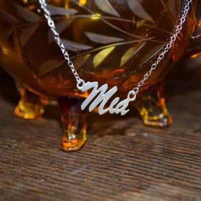 Beautiful Monogram Necklace – Perfect Valentine's Gift