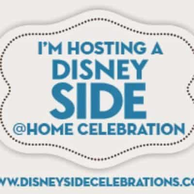 I'm hosting a Disneyside @Home Celebration and I can't wait for the Pixie Dust to Arrive