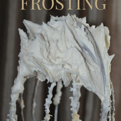 Easy Vanilla Cream Cheese Frosting Recipe