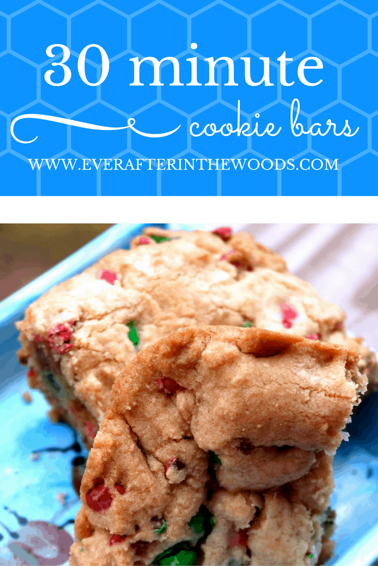 SUPER EASY SOFT CHEWY COOKIE BARS