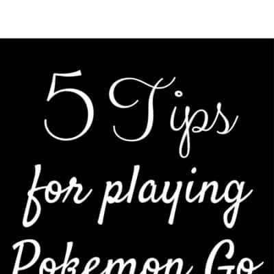 tips for playing pokemon go pokemongo