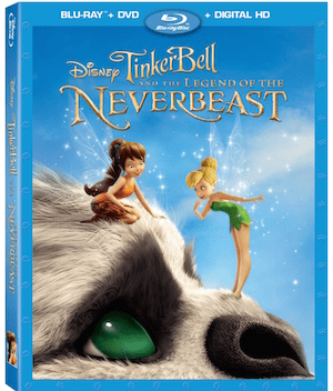 Disney's Tinker Bell and the Legend of the NeverBeast on Blu-ray, Digital HD and Disney Movies Anywhere March 3rd