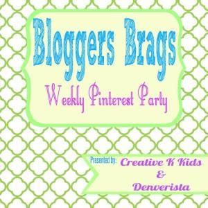 Bloggers Brag Pinterest Linky Party
