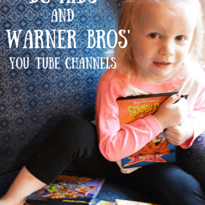 Amazing New Videos from DCKids & Warner Bros' New Youtube channels and Giveaway