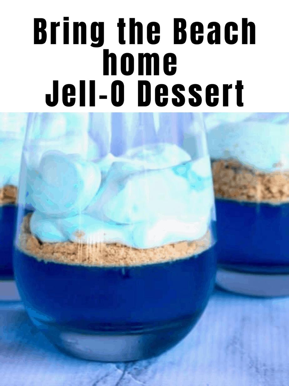 Easy Jell-O dessert