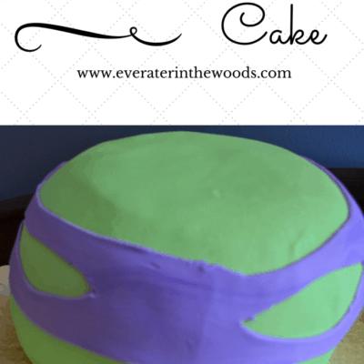 EASY TMNT – Teenage Mutant Ninja Turtle Cake