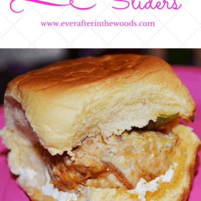 Easy Buffalo Chicken Sliders Recipe