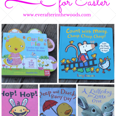 Perfect Books for Easter Baskets! Easy Non-Candy Choices