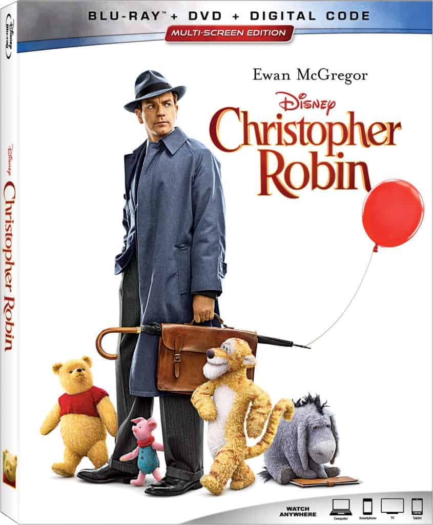 Christopher Robin Blu Ray Combo Pack Giveaway Ever