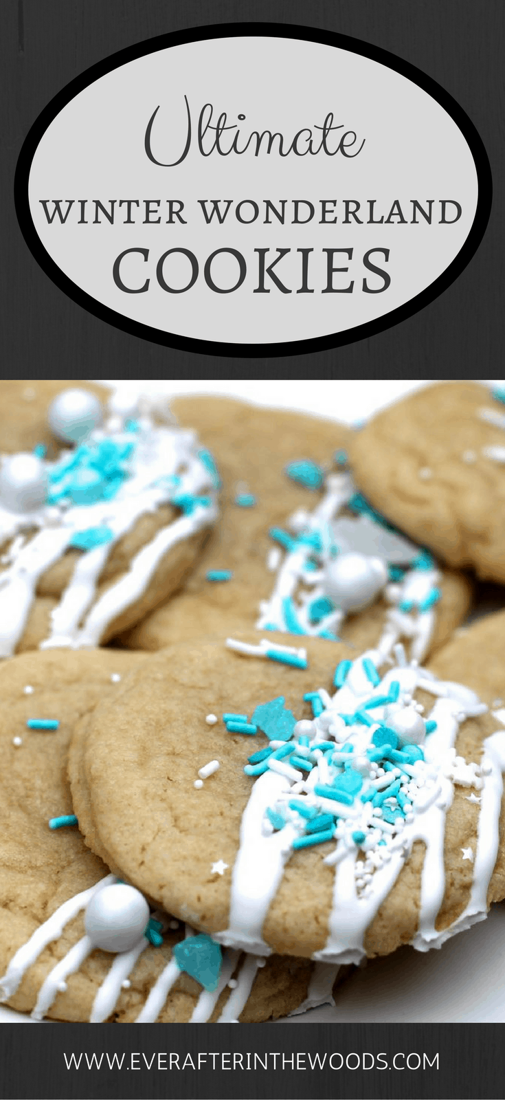 perfect frozen cookie for christmas party or frozen birthday