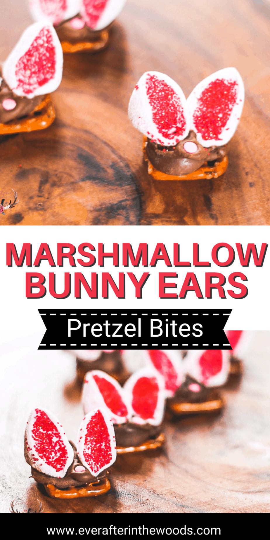 Bunny Chocolate Pretzel Bites