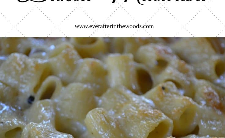 two cheese pasta