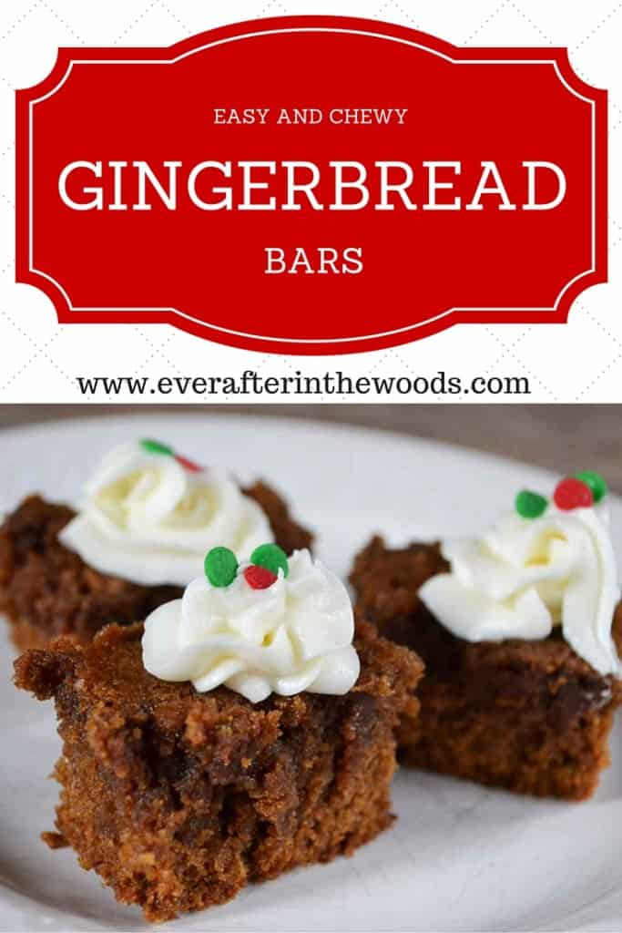 moist chewy cake mix gingerbread bar cookie brownie