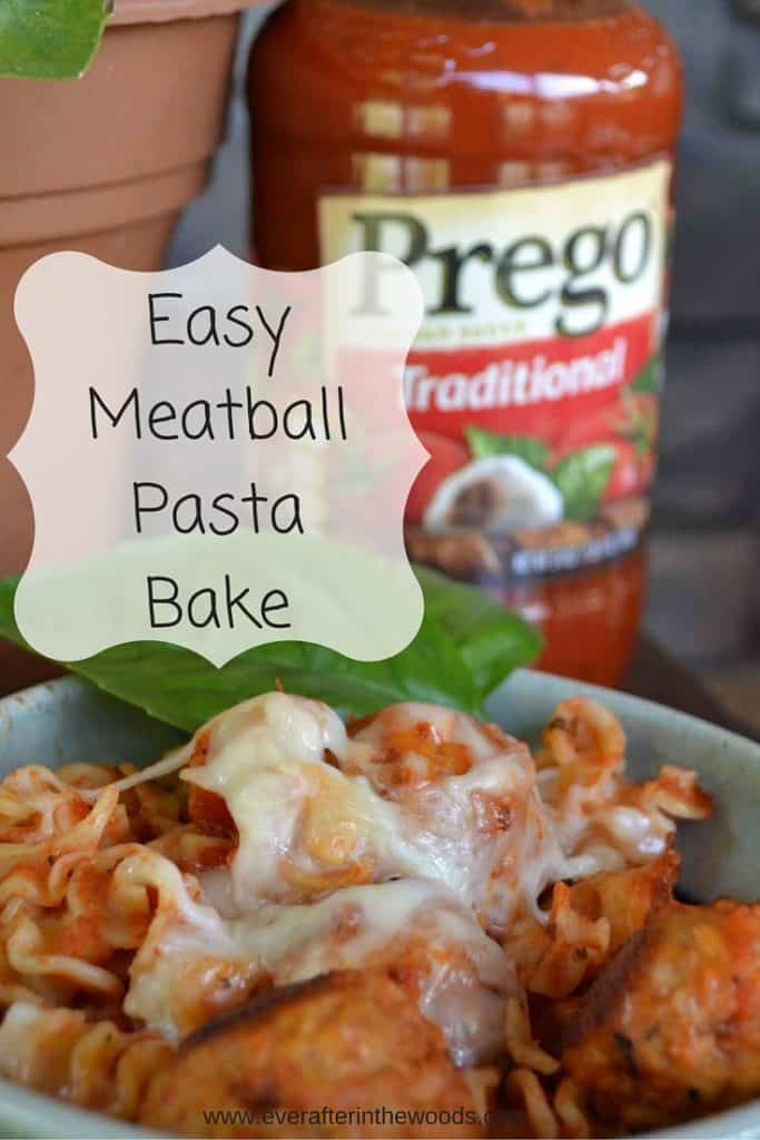 EasyMeatball PastaBake