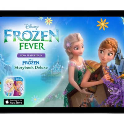 Disney Announced Frozen2 and Frozen Fever to the Frozen:Deluxe Storybook