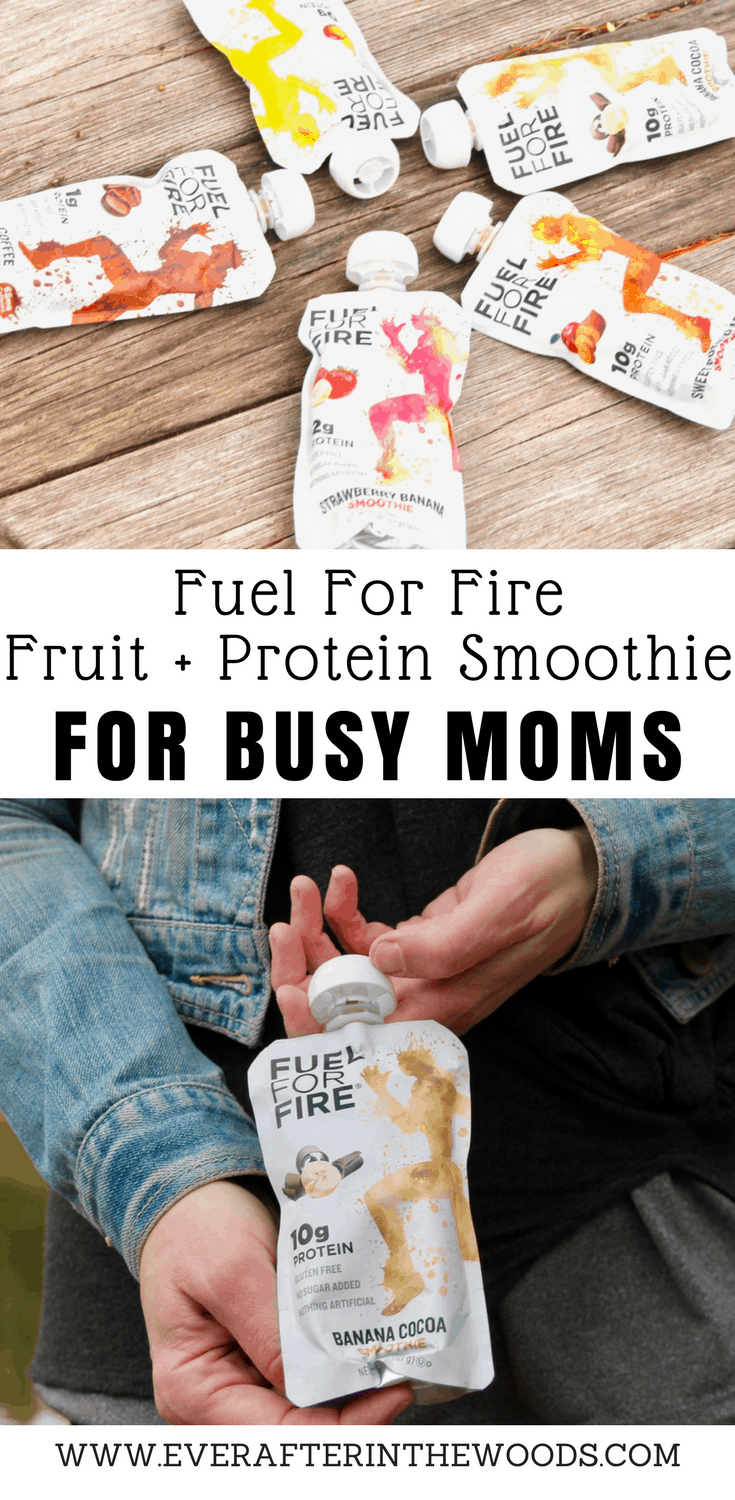 fuel for fire fruit +protein smoothie