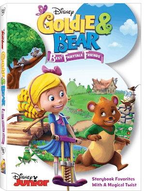 Goldie & Bear DVD from Disney Junior Coming Soon
