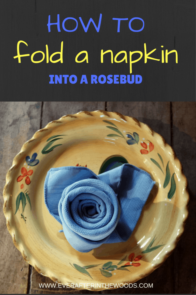 cute and clever napkin folding for table settings