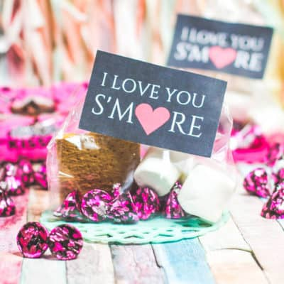 Cute Classroom Valentine's for Kids with HERSHEY® Lava Cake KISSES Chocolates