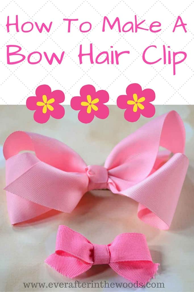 How-to-Make-a-bow-hair-clip