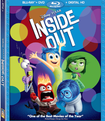 Disney-Pixar Inside Out on Blu-ray 3D, Blu-ray Combo Pack and On-Demand November 3rd