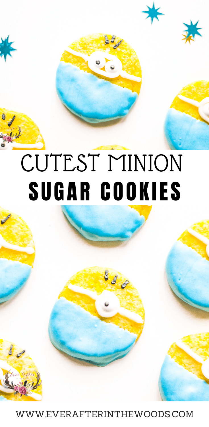 EASY TO MAKE Minion Cookies