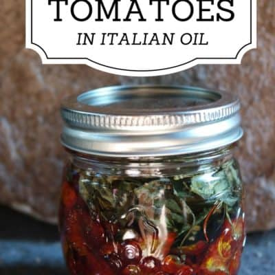How to Make Dried Tomatoes in Olive Oil