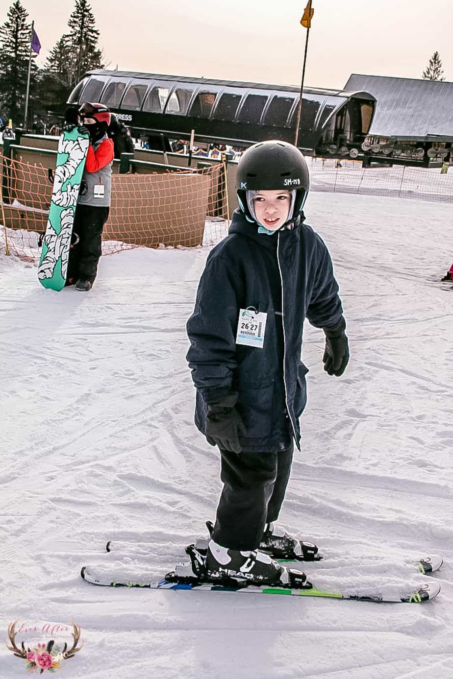 snow cap ski lessons for kids mount snow mt snow