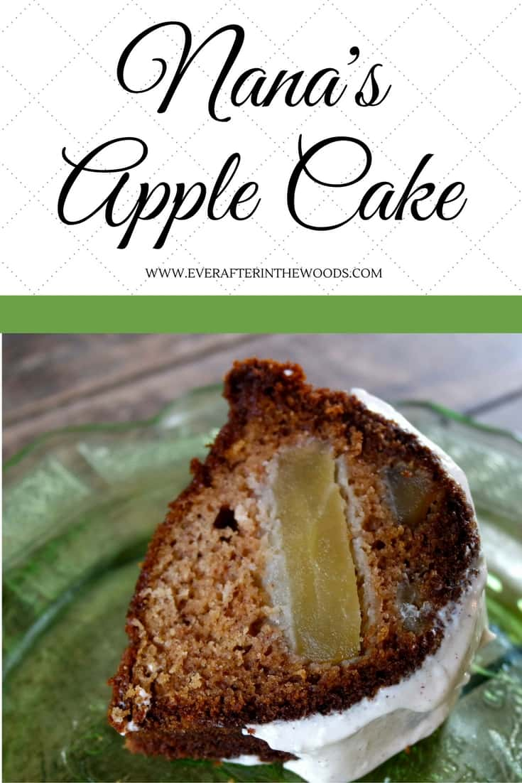 grandma old fashioned fashion apple cake fall recipe