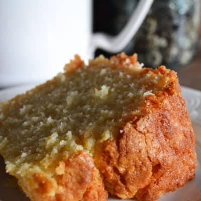 The Best Vanilla Almond Poundcake Recipe