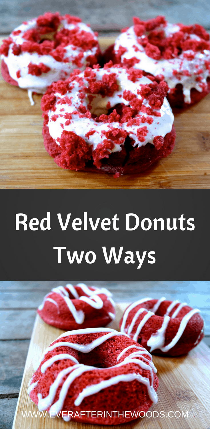 baked red velvet doughnuts recipe