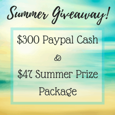 Summer $300 Giveaway & More!