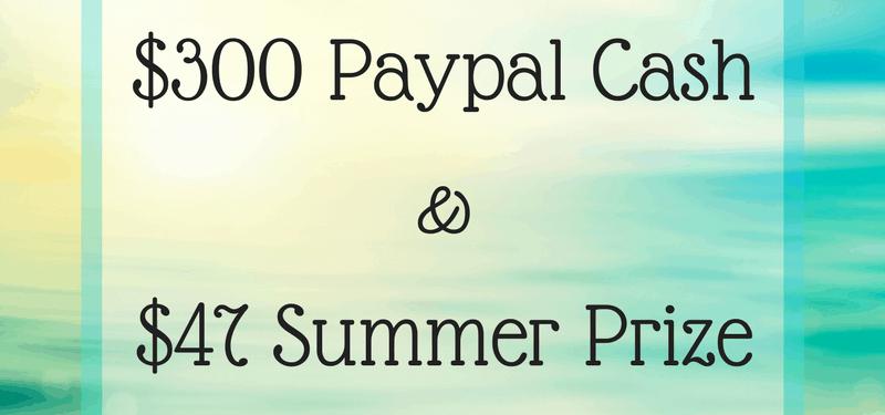 Summer $300 Giveaway & More!