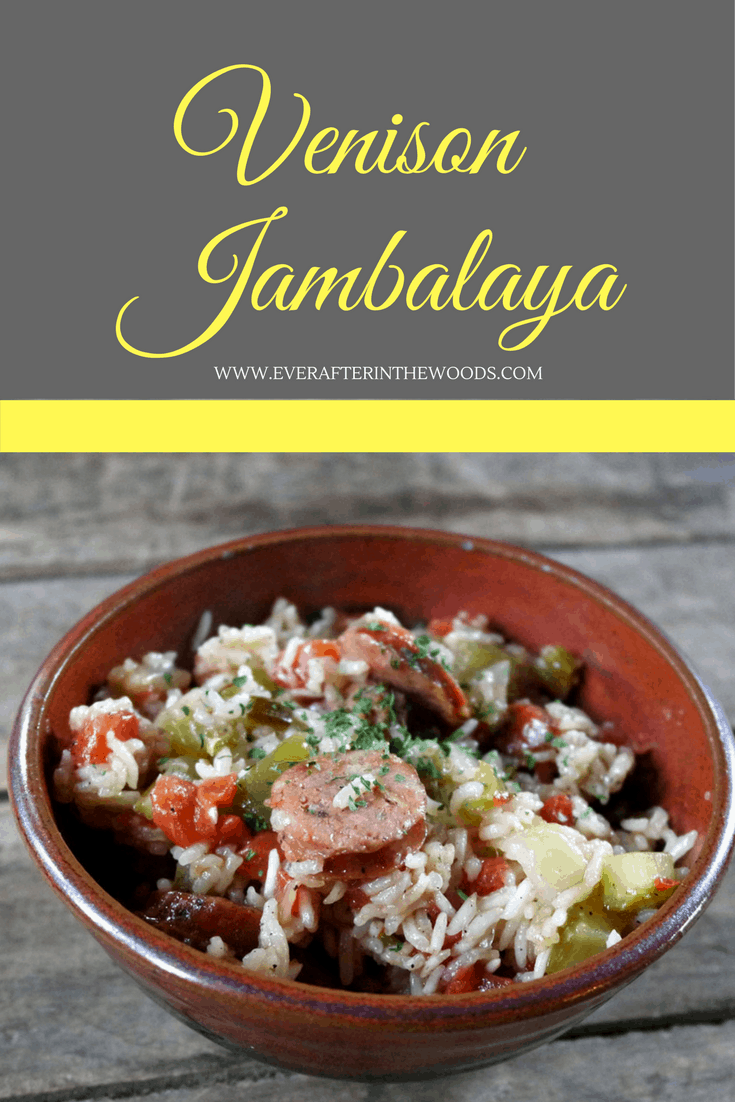 EASY Venison Jambalaya RECIPE