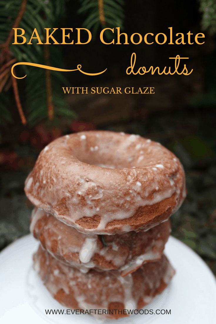 easy cake like chocolate donuts