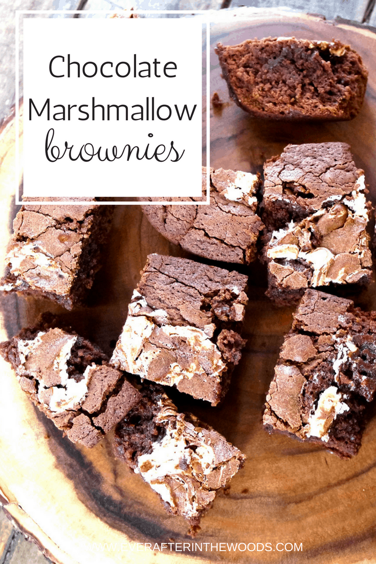 how to make Chocolate Marshmallow brownies