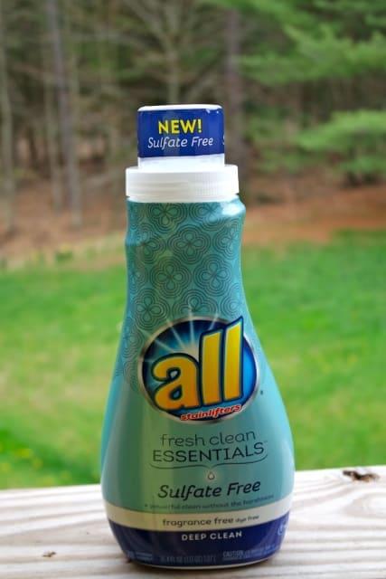 sulfate free detergent
