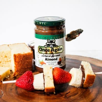 Once Again Organic Amore Almond Spread with Milk Chocolate