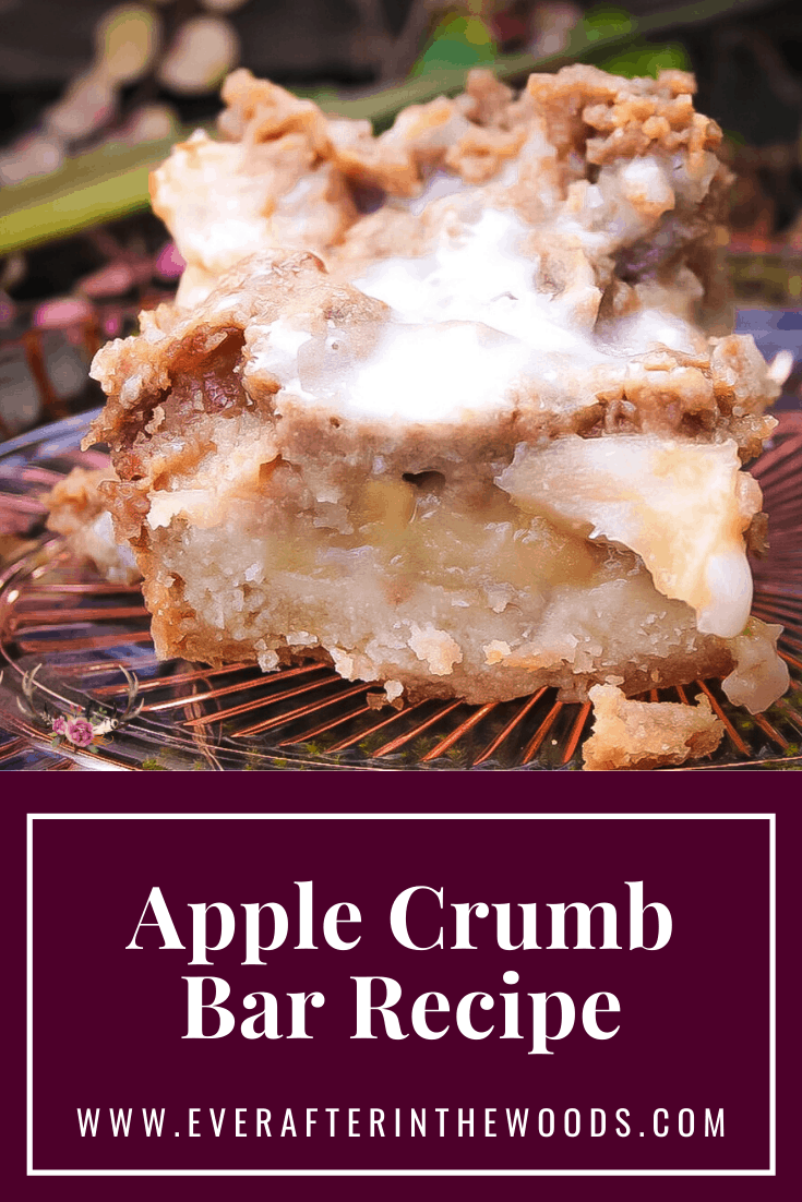 apple crisp cookie bar