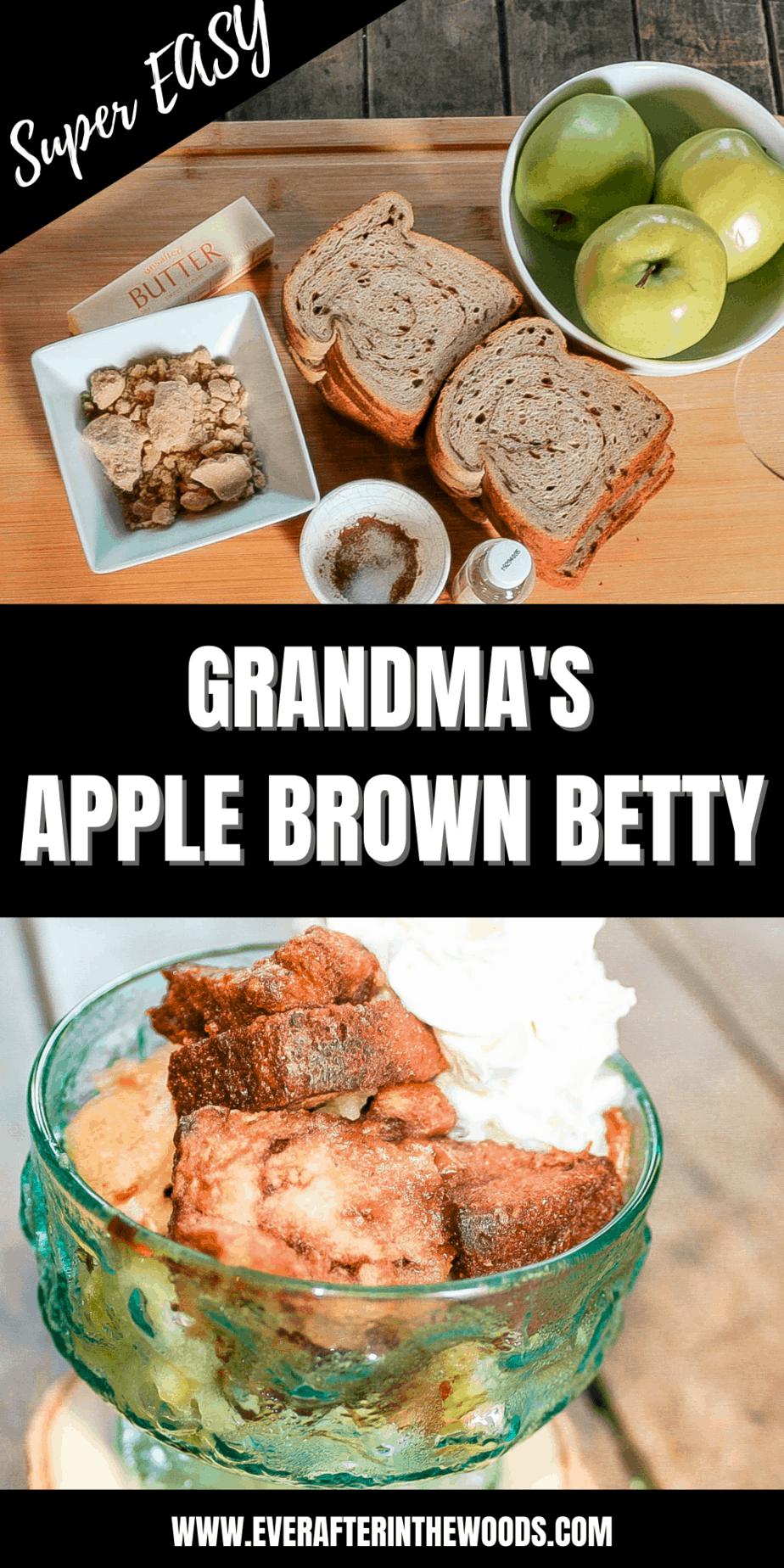 apple betty recipe
