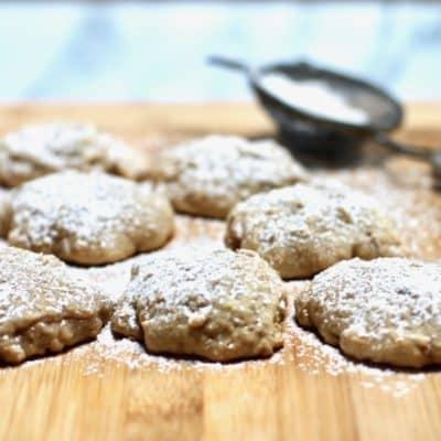 brown sugar apple cookies