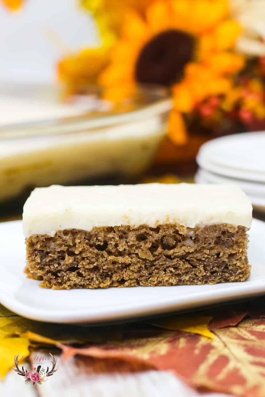 caramel apple sheet cake recipe