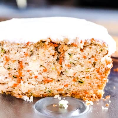 Zucchini Apple Carrot Bread