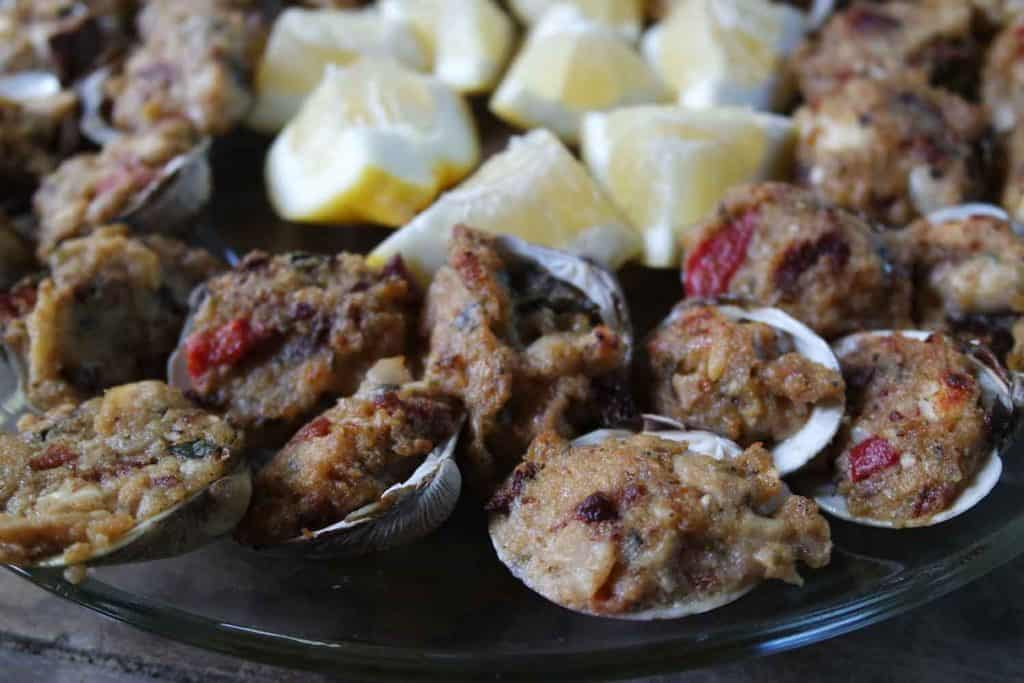 clams casino oreganata stuffed italian baked stuffed clams