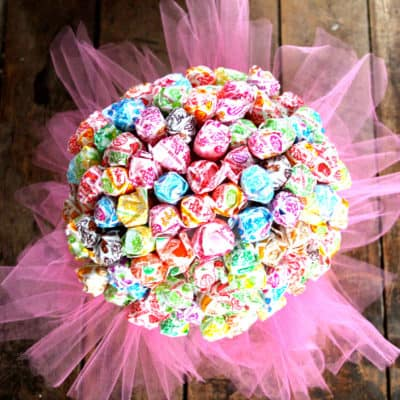easy tutu centerpiece for dance ballet ballerina little girl birthday party shower